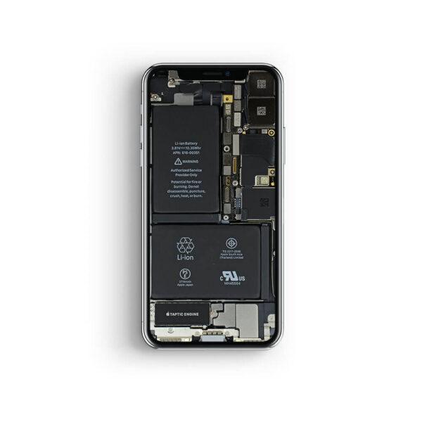 iphone x platinen reparatur