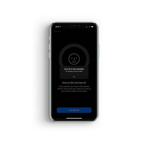 iphone xs face id reparatur
